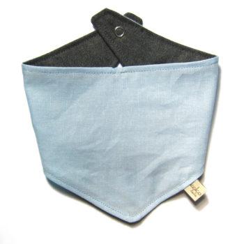 Pack Azul Portachupetes Bolas+ Bandana