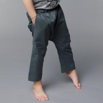 Pantalones unisex verdes