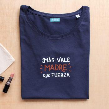CAMISETA MÁS VALE MADRE