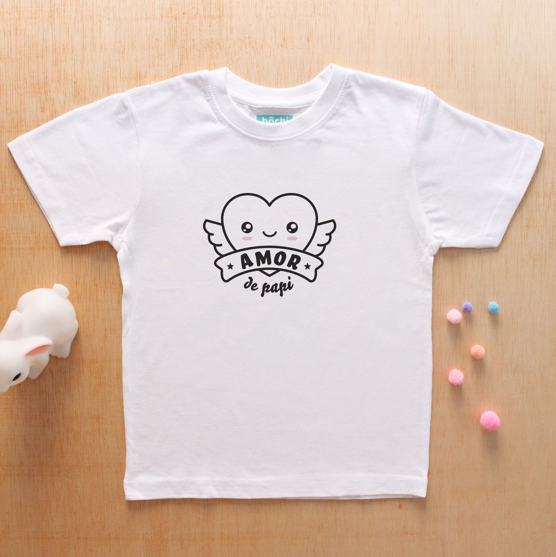 703340820 Camiseta Amor de Papi