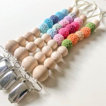 Chupetero Crochet