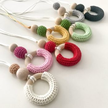 Colgante Lactancia Crochet