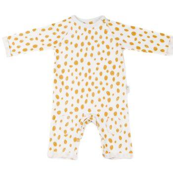 Peto de bebé de felpa en algodón orgánico.