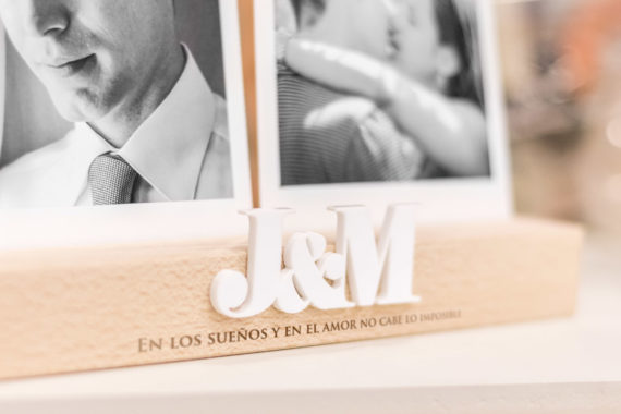 "BASE DE FOTOS PERSONALIZABLE ""INICIALES"""