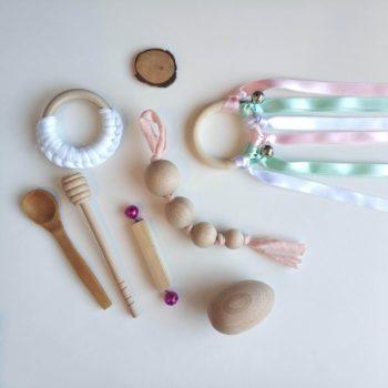 Kit Waldorf-Montessori Pastel Blanco