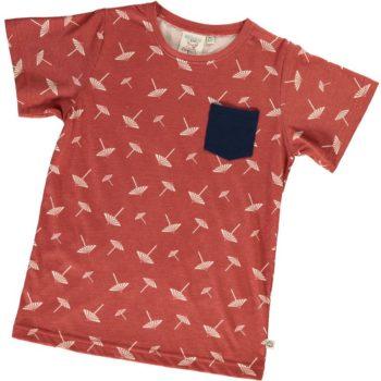 Camiseta unisex terracota