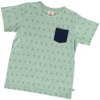 Camiseta unisex verde