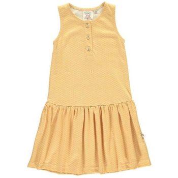 Vestido charlestón miel