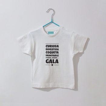Camiseta Personalizable Bebé/Niñ@