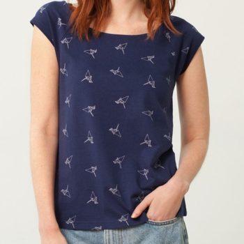 Camiseta Cuello Barco - Adulto