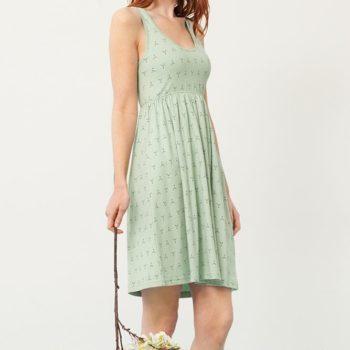 Vestido Pixi verde - Adulto