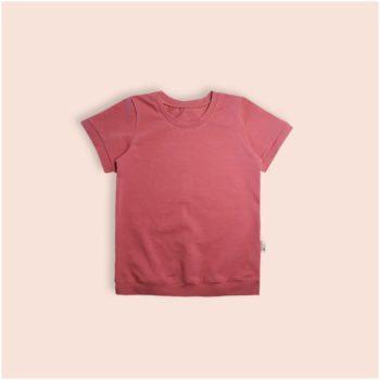 Camiseta Lisa Marsala