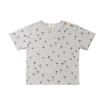 Camiseta Rayas palmera