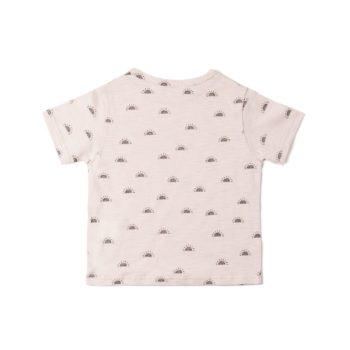 Camiseta flamé Sol Rosa