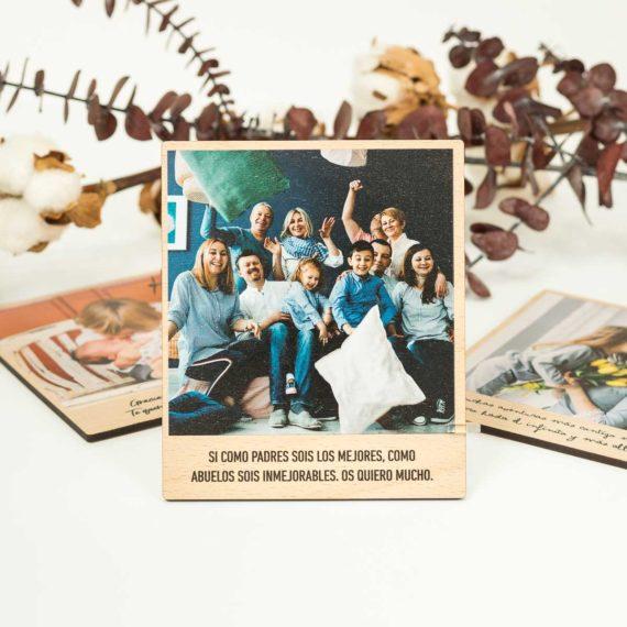 Foto en Madera Personalizable Polaroid