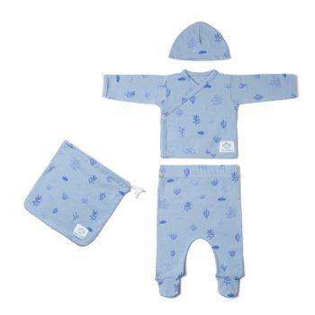 Pack Recién Nacido Algas azul