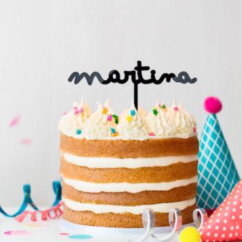 Cake Topper Nombre Infantil