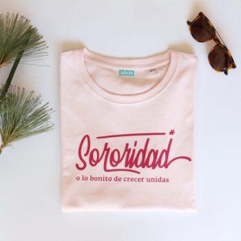 "CAMISETA ""SORORIDAD"" (algodón orgánico)"
