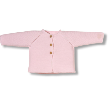Chaqueta newborn links rosa