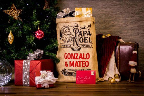 Saco Navidad PAPÁ NOEL