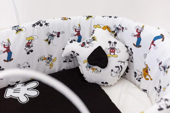 Moisés de bebé Mickey Mouse Folk