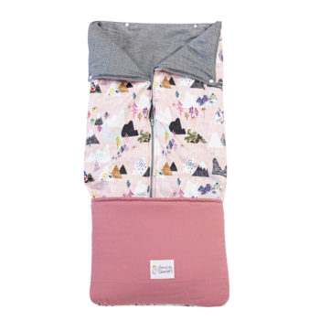 Saco convertible para Bebe- PINK MOUNTAIN