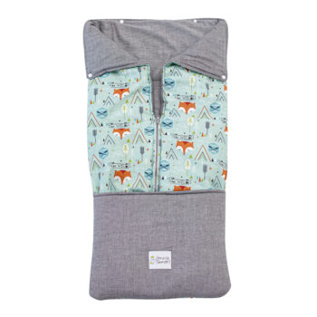 Saco convertible para Bebe- GREEN FOX