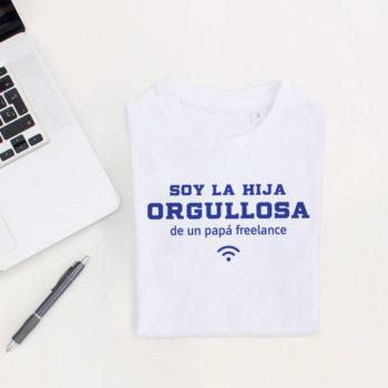 Camiseta Hij@ de Papá Freelance