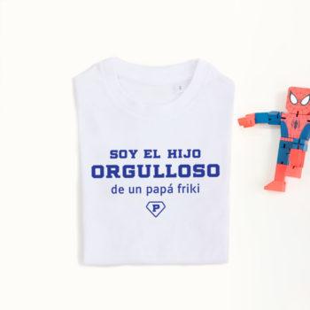Camiseta Hij@ de Papá Friki