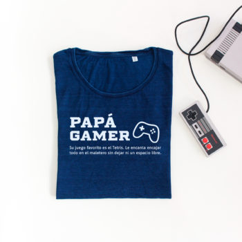 Camiseta Papá Gamer