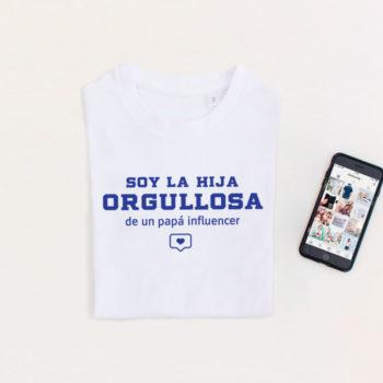 Camiseta Hij@ de Papá Influencer