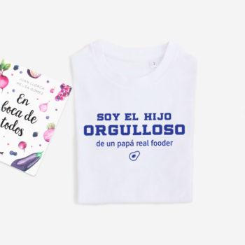 Camiseta Hij@ de Papá Realfooder