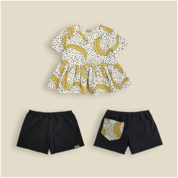 Conjunto Short Banana