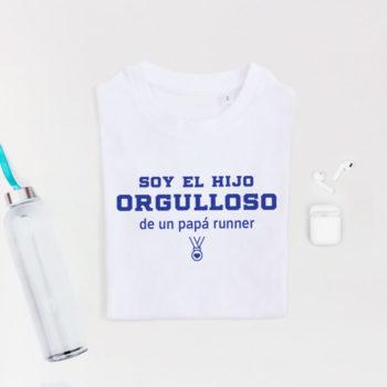 Camiseta Hij@ de Papá Runner