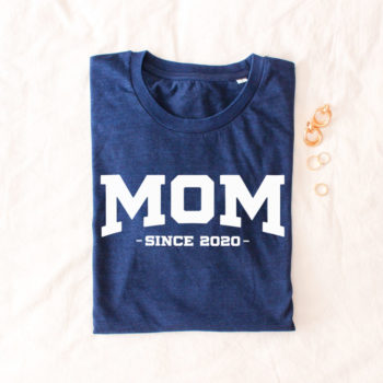 "Camiseta Denim ""MOM"""