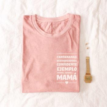 Camiseta MAMÁ/ABUELA/TITA… Personalizable