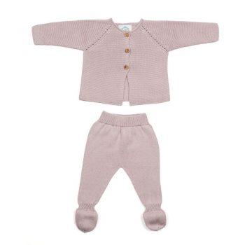Primera puesta bebé links rosa