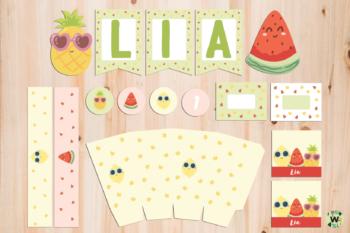 Kit Imprimible Frutti