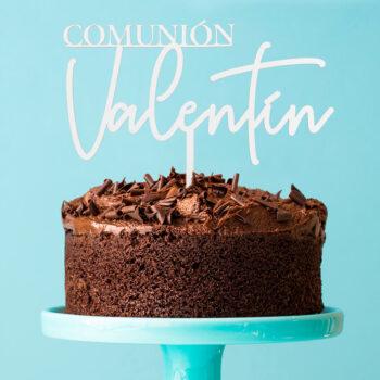 Cake Topper COMUNIÓN