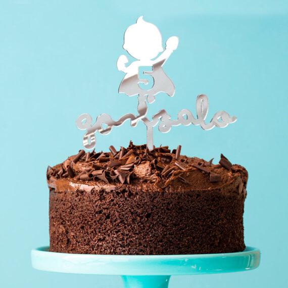Cake Topper SUPERHÉROE