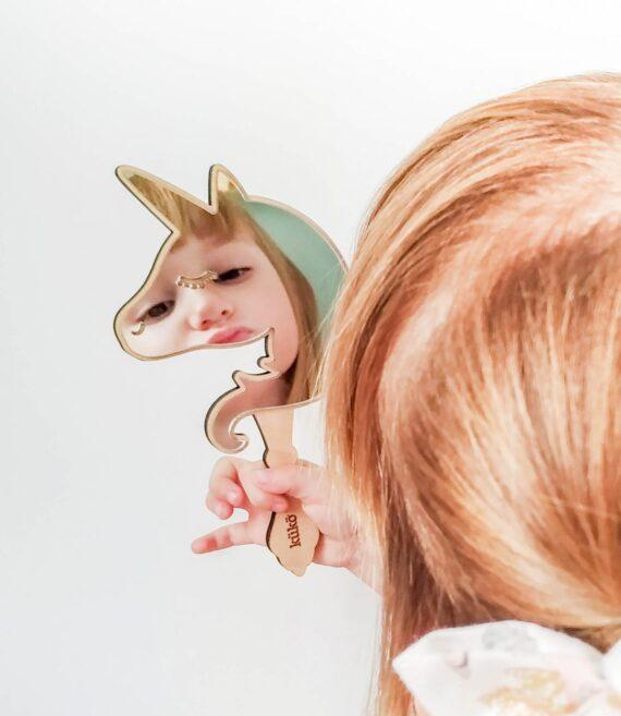 Acrílico espejo especial niños, no se rompe, no corta.