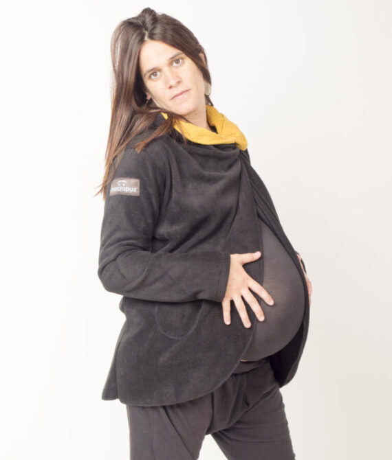 Cárdigan estándar y embarazo