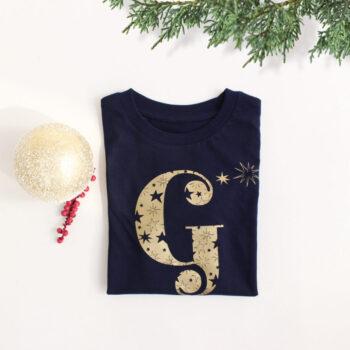 Camiseta Infantil Navidad