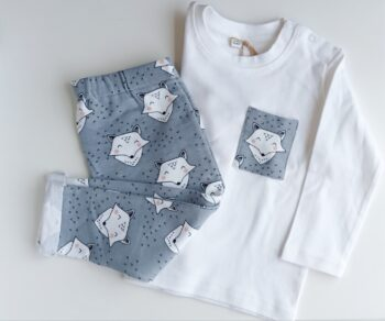 Conjunto Camiseta manga larga y Pantalón