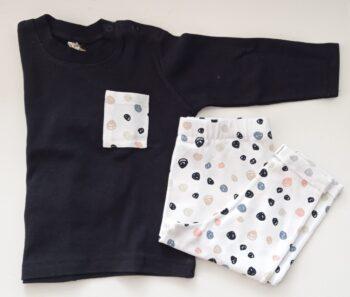 Conjunto Camiseta manga larga + Pantalón colores