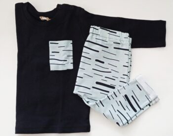 Conjunto Camiseta manga larga + Pantalón stripes