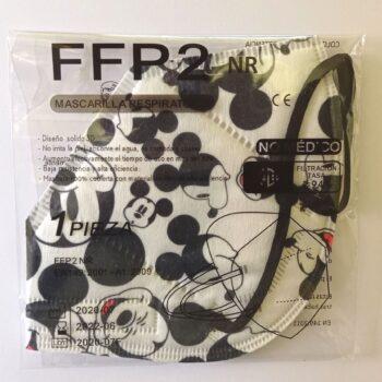 Mascarilla Respiratoria FFP2 Estampada