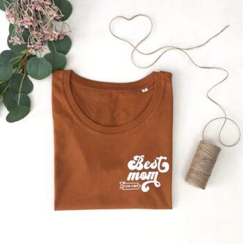 Camiseta Mejor Mamá Personalizada