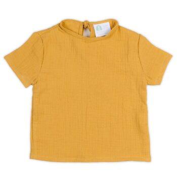Camiseta Bámbula Mustard
